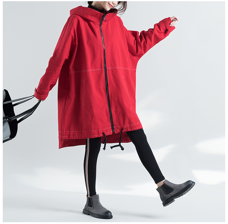 984fd46ebc0 2019 2017 High Quitly Trench Coat For Women Plus Size Women S Long ...
