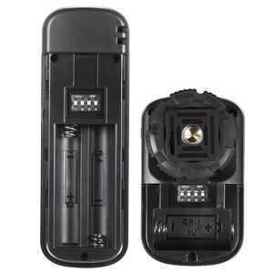 Image 4 - YouPro YP 860 E3 2.4G Draadloze Afstandsbediening Ontspanknop Zender Ontvanger 16 Kanalen voor Canon Pentax Dslr camera