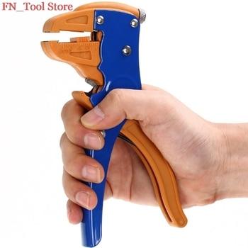 FASEN envío gratuito HS-700D 0,25-6mm2 Alta Calidad Auto-ajuste Alambre de aislamiento cortador herramienta de crimpado manual de