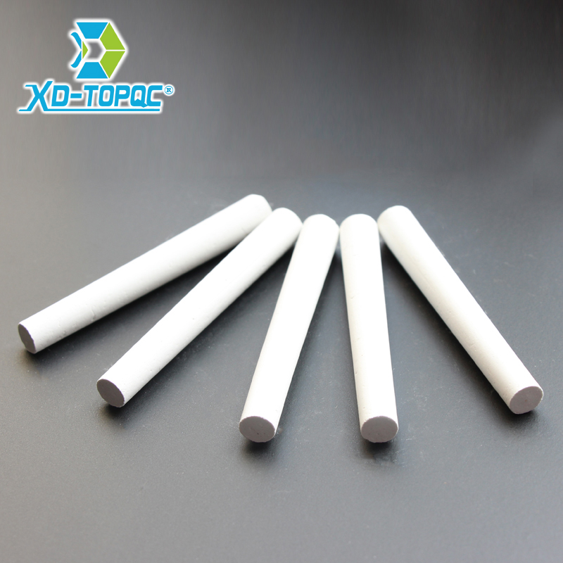 New 10pcs/Lot Dustless White Drawing Chalk For School Education Chalks Stationary Office Supplies Marker White Tizas CK01