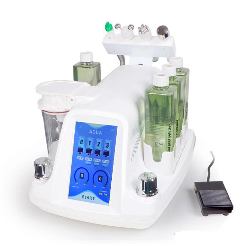 Korea Oxygen Facial Machine Portable Beauty Equipment Hydro Aqua Peel RF Micro-bubble Water Beauty For Facial Cleaning