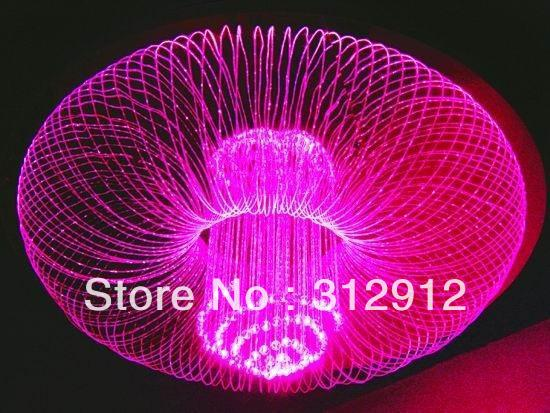 цены lantern type Rainbow Color Changing PMMA optical fiber light;80cm diameter,60cm high