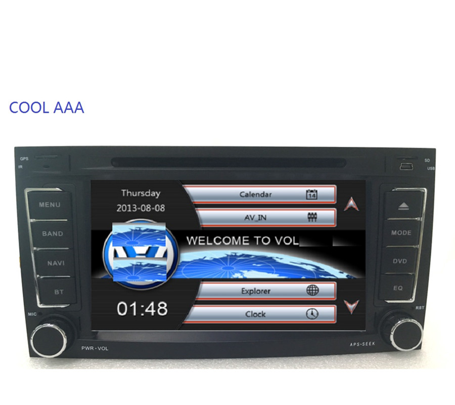 imágenes para Radio de coche DVD 2din para Volks wa gen VW Touareg Multivan T5 Transporter 2004-2011 3G sistema Estéreo