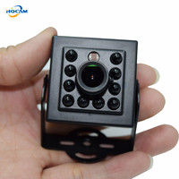 480TVL CCD Mini CCD CAMERA Invisible 10pcs IR 940NM 0 Lux Night Vision CCTV Mini Camera