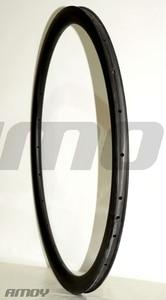 Image 4 - 38mm asimetrik Kattığı U şekli yol disk karbon jant 700c cyclocross tekerlek