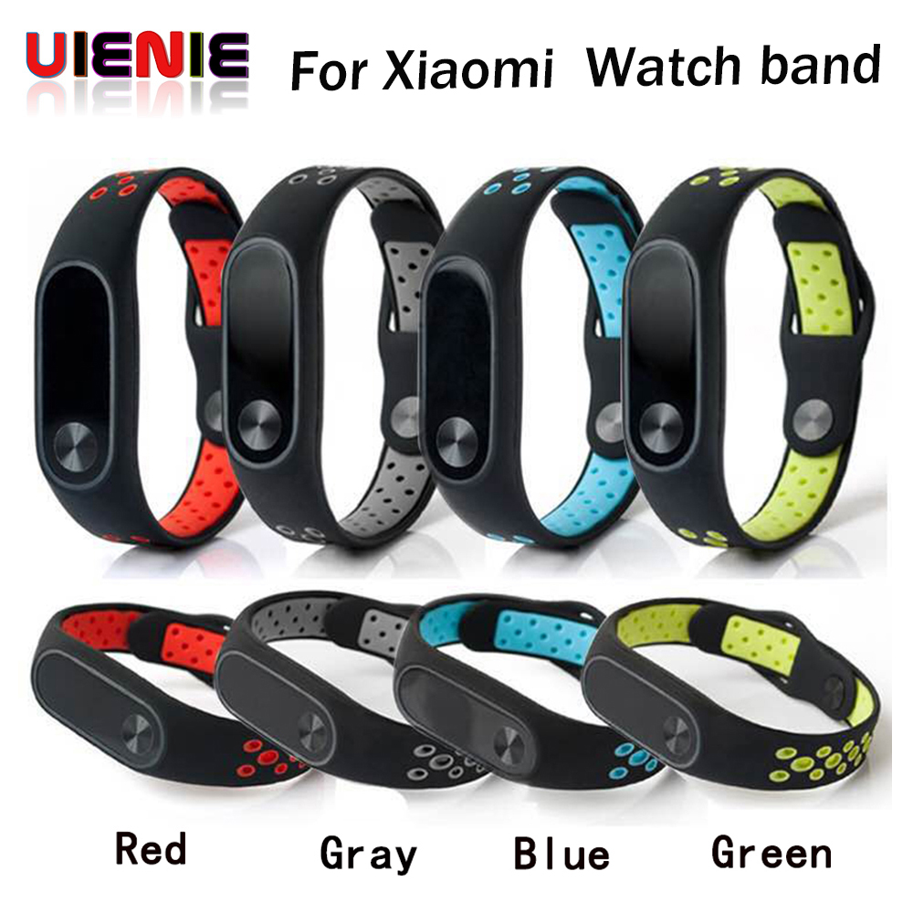 Watch Band Silicon Wrist Strap Replacement WristBand Bracelet For XIAOMI MI Band 2 Correas de reloj 2018 High Quality Watchbands image