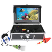 GAMWATER 10 Inch HD 720P 1000tvl Underwater Fishing Video Camera Kit 6 PCS LED Lights With