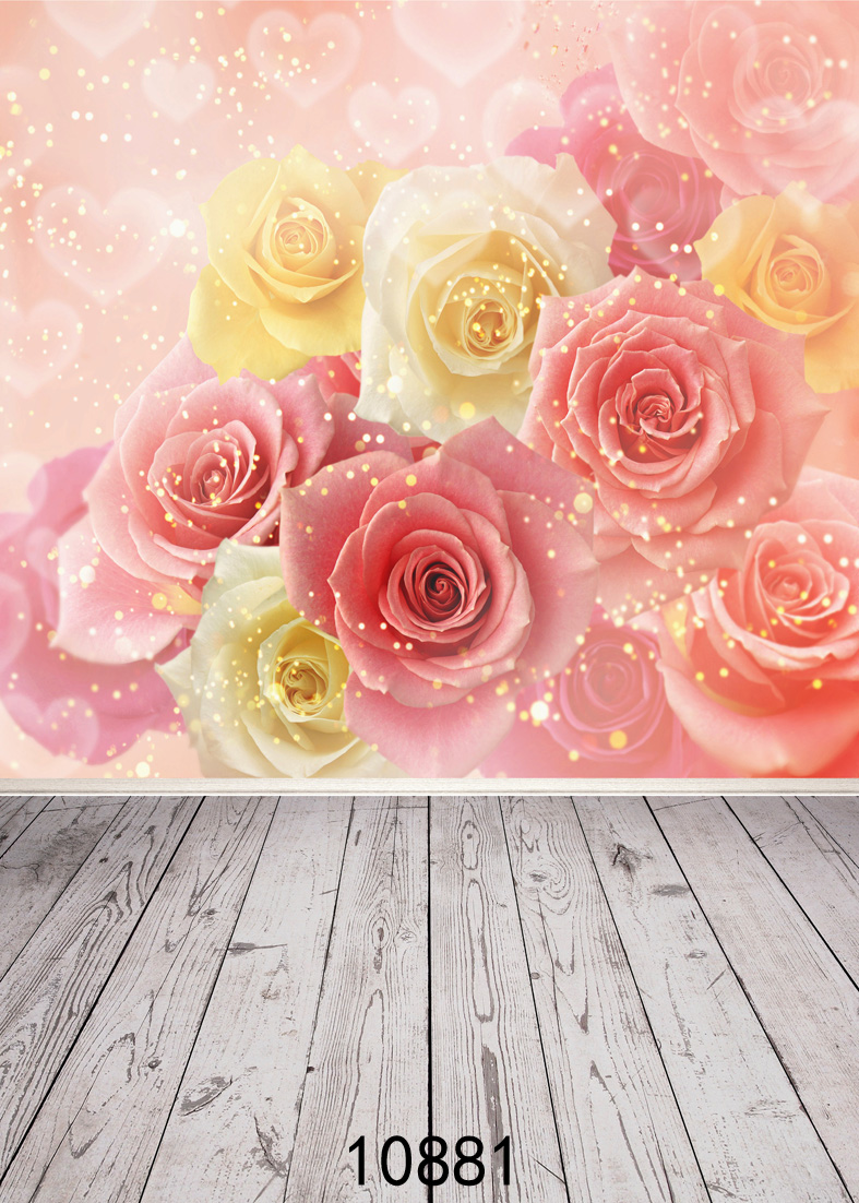 SHENGYONGBAO Vinyl Custom Photography Backdrops Prop Valentine's day Theme Photography Background <font><b>10881</b></font> image