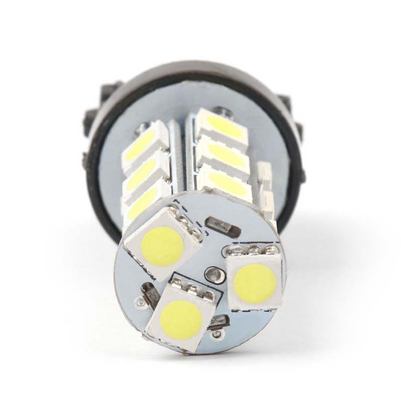 Image 3 - 10X Super Bright White 3157 3156 18 SMD LED Tail Brake Running Light Car Led Light Bulbs T25 4114 Turn Signal-in Car Headlight Bulbs(LED) from Automobiles & Motorcycles