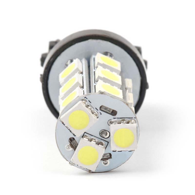 Image 3 - 2 or 10pcs X Super Bright White 3157 3156 18 SMD LED Tail Brake Running Light Car Led Light Bulbs T25 4114 Turn Signal Car light-in Car Headlight Bulbs(LED) from Automobiles & Motorcycles