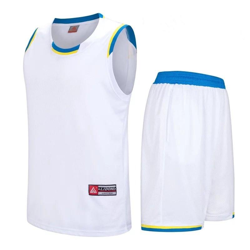Men Basketball Jerseys Sets Uniforms Sport Clothing Breathable Shirts Shorts