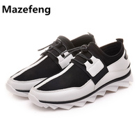 Free Shipping New Casual High Quality Fashion Youth Tide Black And White Blade Ventilation Men Shoes