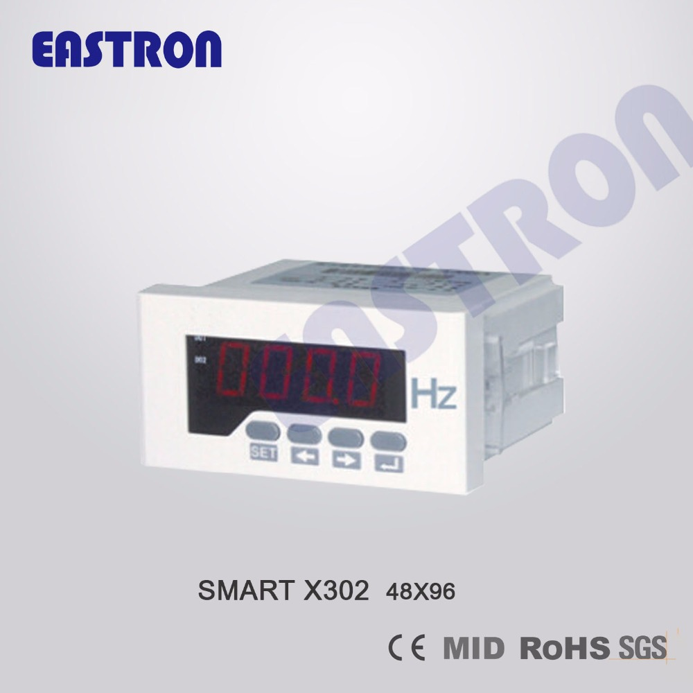 US $13 0 |Smart X302HZ, Hz Meter, Frequency Meter , Class 0 5, measuring  Frequency, AC 230V, DC 24V, 5A CT connection-in Voltage Meters from Tools  on