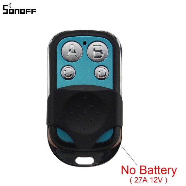 Sonoff 433MHz 4 ערוץ RF מרחוק בקר ABCD 4 כפתורים עבור Sonoff RF/Slampher/T1/4CH פרו R2 חשמלי מרחוק מפתח Fob שליטה