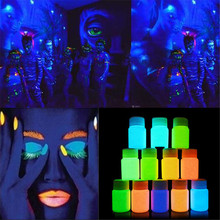 1 Bottle Neon Fluorescent/ Glow In The Dark Body Paint – 9 Colours Avaliable