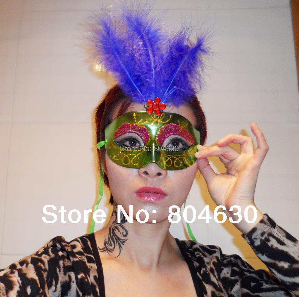 Compare Prices on Feather Mardi Gras Mask- Online Shopping/Buy Low ...