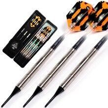 CUESOUL Swords Series 18 Grams 95% Tungsten Soft Tip Darts Set 010 cuesoul 18 grams soft tip tungsten darts 85