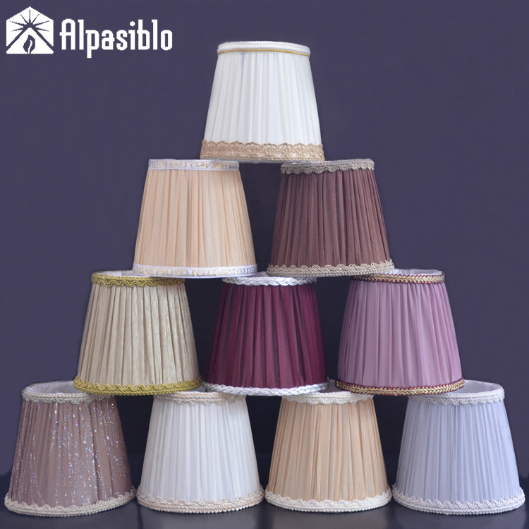Chinese style faux pendant lights,classic embroidery single pendant lamp antique entrance lamps 3 size 5 styles for choice lampshade