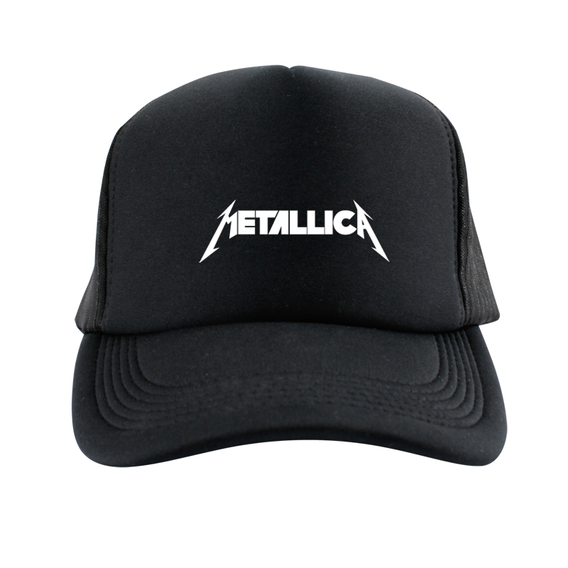 2015 Metallica Street Dancing Caps Skateboard Baseball Cap Black Men Hiphop  mesh snapback hat Adjustable Gorras Casquette Hat-in Baseball Caps from  Men s ... 905e324bb09d