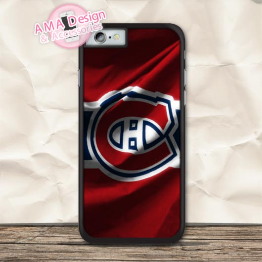 Ice Hockey Montreal Canadiens Protective Case For iPhone X 8 7 6 6s Plus 5 5s SE 5c 4 4s For iPod Touch