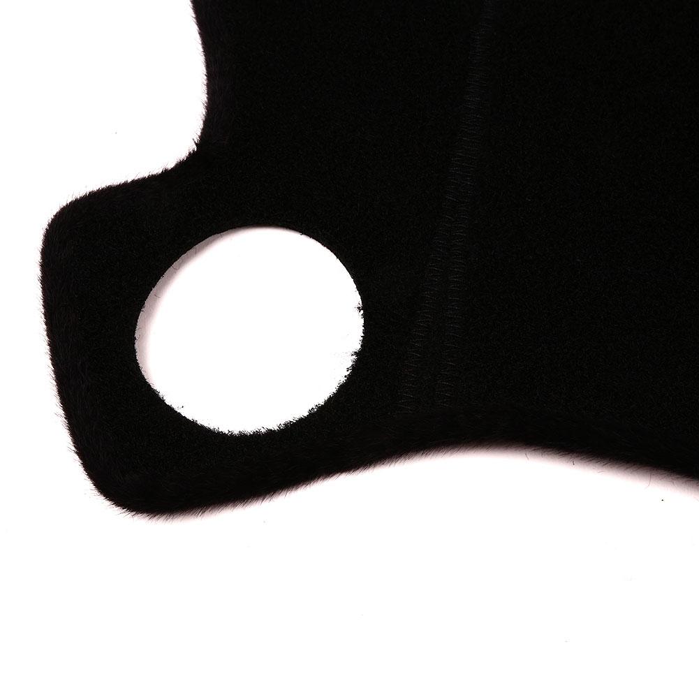 Vehemo Войлок Ткань приборной панели Крышка коврик для приборной панели оттенки левого водителя сиденье для грузовиков запчасти Солнцезащитная Накладка для машины Pad черный коврик для приборной панели