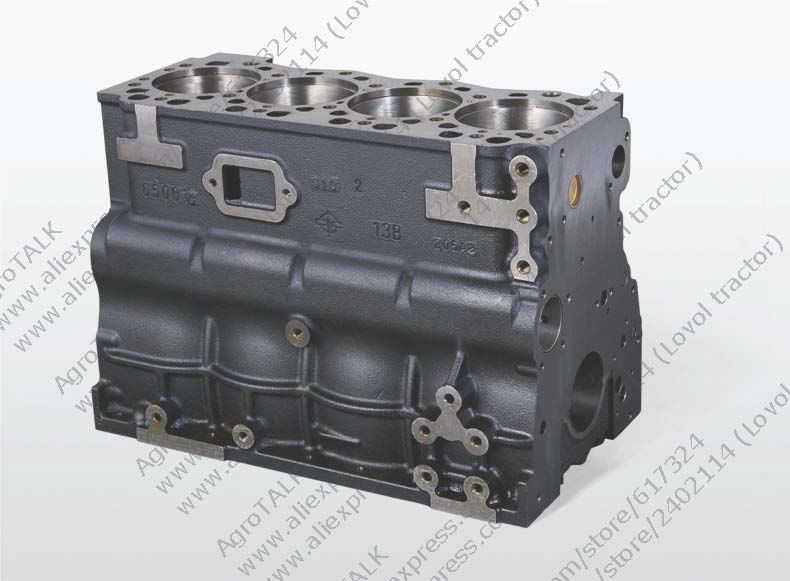 Changchai 4L68 engine, the cylinder block, parts number: motorcycle engine parts std cylinder bore size 66 4mm pistons