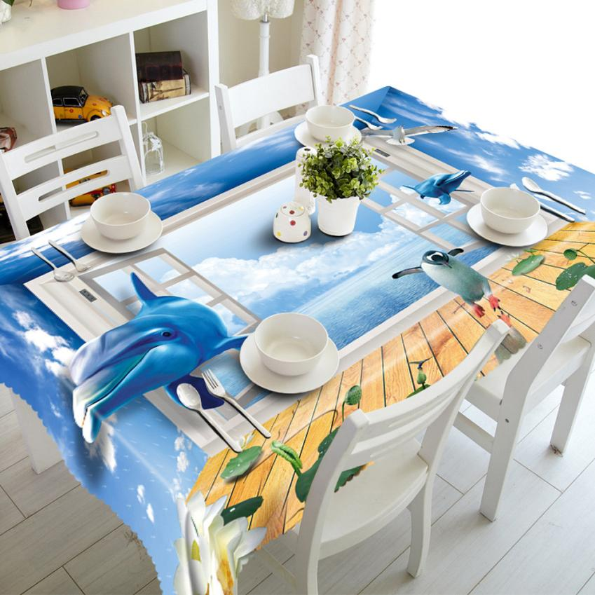 1PC Dining Multi Functional Table Cloth for Party Picnic Table Cloth Blanket 90cm*150cm Janu 18