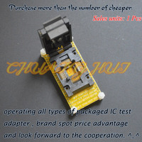 ic test FPQ 44 0.8 14 test socket FPQ44 QFP44 Test socket with connection plate 1 pin to 1pin General purpose line