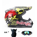 Venda quente da motocicleta motocross Off Road Capacete Adulto criança ATV Dirt bike downhill capacete cruz Capacete