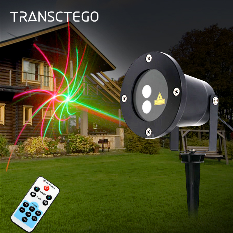 цена на Led Laser Projector Light 20 Patterns Disco Lamp Waterproof IP65 Outdoor Garden Light For Christmas Decorative Holiday Lawn Lamp