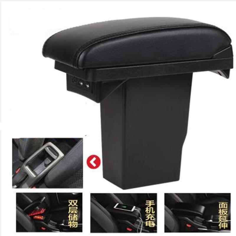 For Peugeot 2008 armrest box Peugeot 301 Citroen C3-XR Elysee armrest box Universal Central Storage Box modification accessories цена 2017