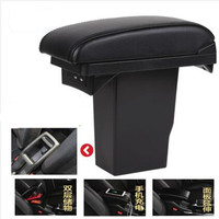 For Peugeot 2008 armrest box Peugeot 301 Citroen C3 XR Elysee armrest box Universal Central Storage Box modification accessories