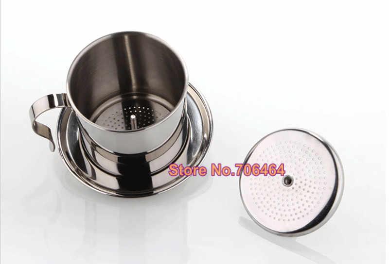 Vietnam caffè dripper caffè manuale filtro a goccia vietnamita coffee vite pentola design