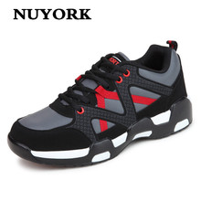 NUYORK Fashion spring autumn fitness women casual shoes with thick soles Dichotomanthes slip female brand tie Flat shoes woman