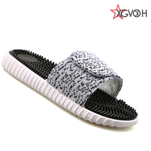 XGVOKH brand Flip Flop Summer Men Sandals massage shoes pad soft Platform Sandal Beach slipper Flip Flops For Men k22