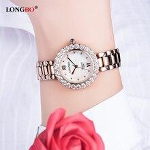 Women's Watch LONGBO Luxury Brand Fashion Quartz Watch Gold Stainless Steel Woman Wrist Watch Ladies Hodinky Clock Reloj Mujer все цены