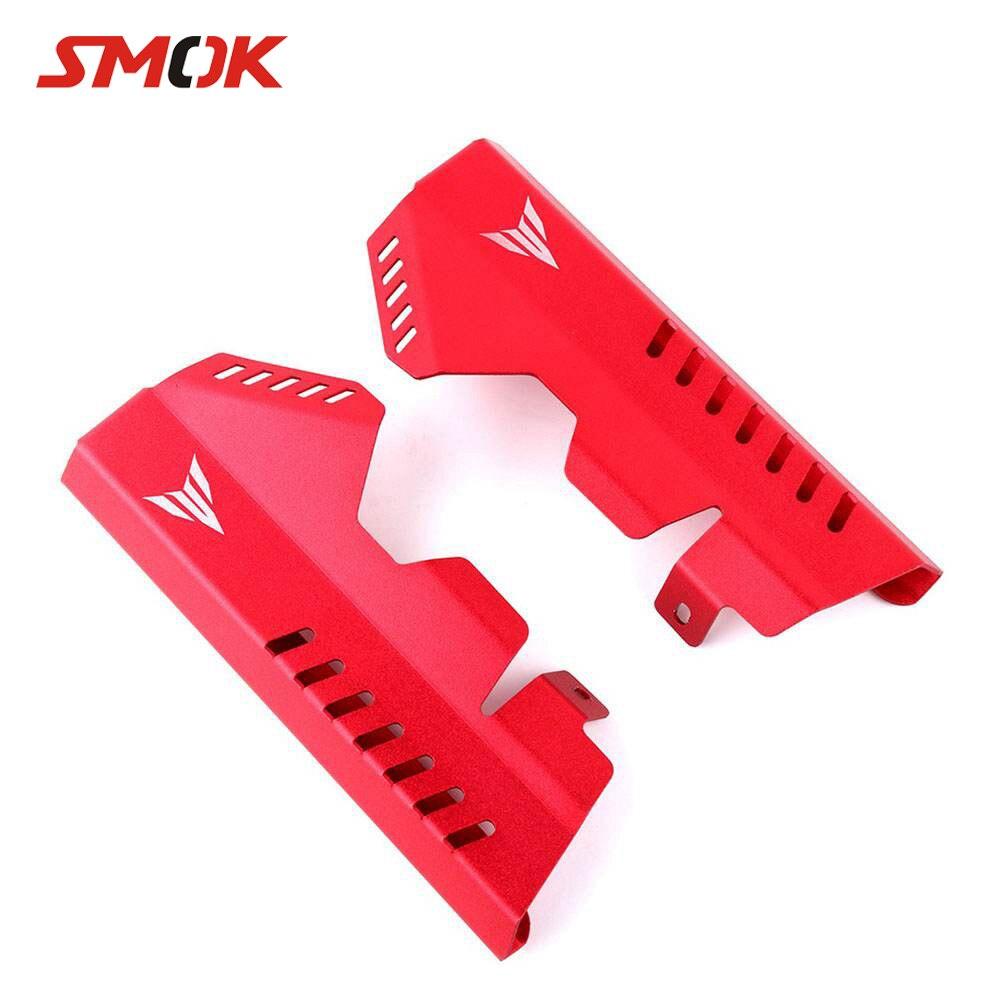 SMOK moto côté radiateur garde gril couvercle protecteur de protection pour Yamaha MT-07 MT 07 MT07 FZ07 FZ-07 FZ 07 2013-2017