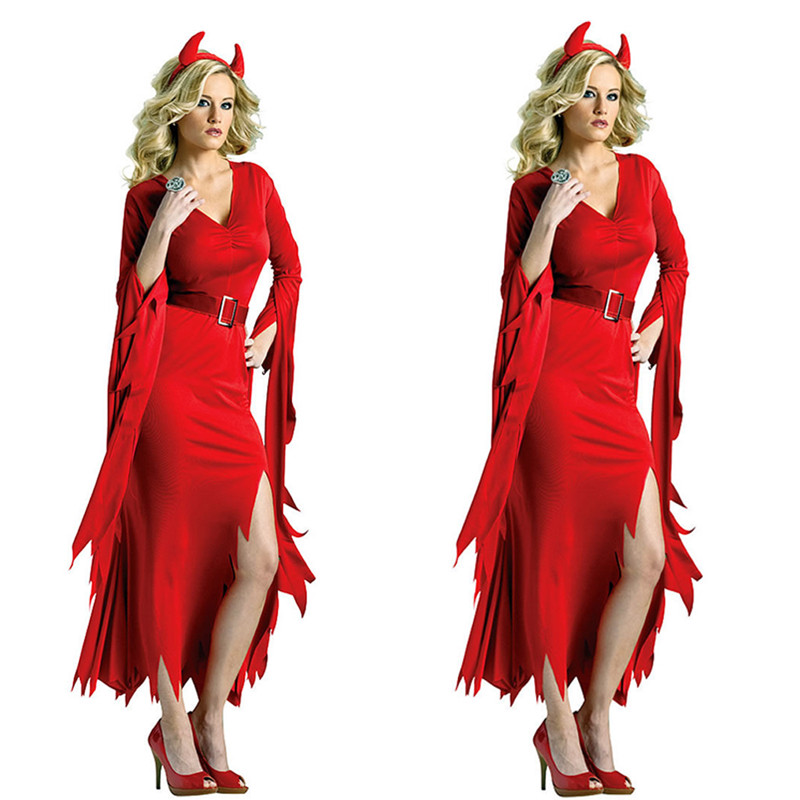 Красное платье ведьмы