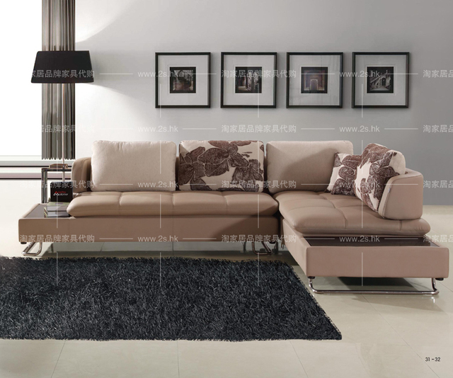 Modern Minimalist Style Casual Sofa Corner Bed Living Room Sets Furniture Parlor
