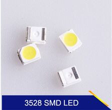 Led Lamp SMD diode smd led smd 3528 beads Cold White 1210 7-8LM 1000pcs X super-bright-leds Free Shipping SMT Reel