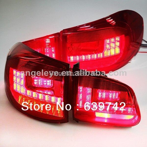 Pro VW Tiguan LED zadní světlo Zadní světlo 2009-2011 rok PW styl