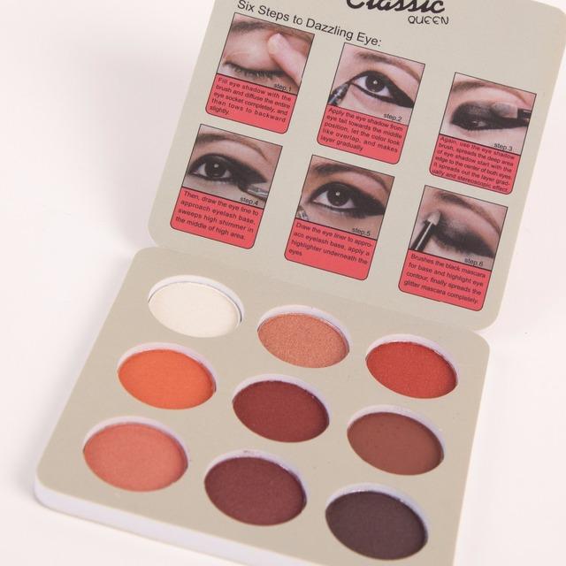 Retro Style Eyeshadow Palette