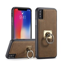 CaseMe H3 for iPhone X TPU + PC 360 Degree Full Protection Back Cover Case with Detachable Magnetic Ring Holder & Lanyard(China)