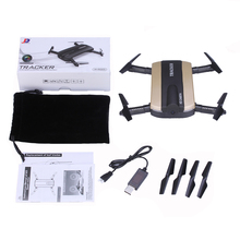 Selfie Drone JXD 523 Tracker Foldable Mini Rc Drone with Wifi