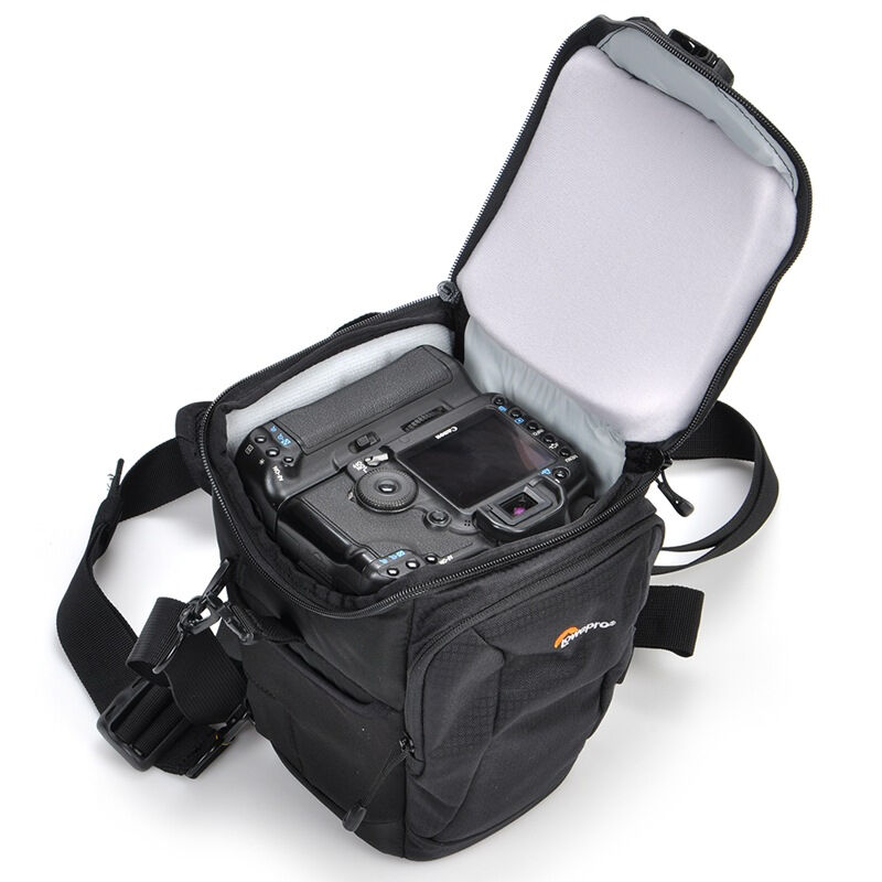 Lowepro Toploader Pro 70 AW II Digital SLR Camera Triangle Shoulder Bag Rain Cover Portable Waist Case Holster For Canon Nikon