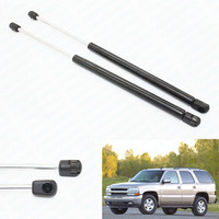 2Pcs Gas Charged Rear Glass Window Lift Support shocks For 2000 2006 GMC Yukon for Chevrolet Suburban Tahoe Cadillac 18.06 inch