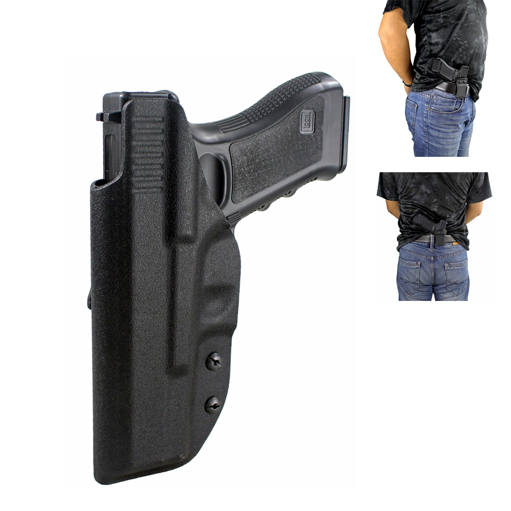 Hunting Glock Holster Concealed Carry Kydex Inside the Waistband Holster for G17 G22 G31 Right Hand Use