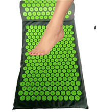 Foot Massager Yoga Acupressure Massag Cushion Body Foot Pain Stress Relief Acupuncture Massage Spike Yoga Mat with Pillow massage cushion massage pillow yoga cushion body pain stress relief acupuncture massage spike yoga mat with pillow massage mat