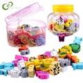 26 teile/los holz spielzeug Cartoon Tiere Obst perlen Bespannen Threading Perlen Spiel Bildung Spielzeug für Baby Kinder Kinder WYQ