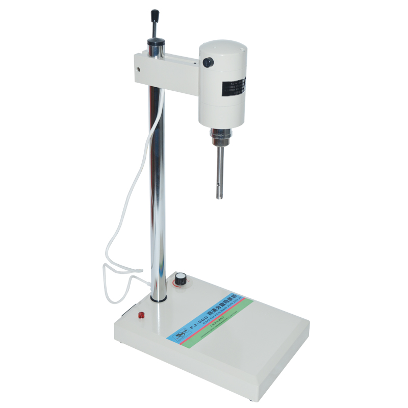 Laboratory Homogenizer Laboratory Mixing Equipment with Different Heads Mixer FJ 200